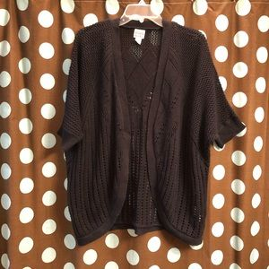 🐘 Canyon River Blues Knit Cocoon Cardigan M28P